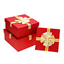 Classic Red Gift Box With Ribbon Bowknot(More Sizes)