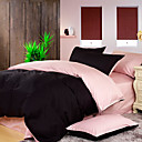 4PCS Hedda Double Face Cotton Duvet Cover Set