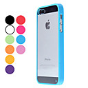 Transparent Design Durable Hard Case for iPhone 5 (Assorted Colors)