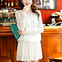 Women's Lace Splicing Dress