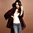 Women's Faux Fur Long Coat