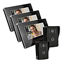 "9""Touch Key Wired Color Video Door Phone,with SD Card Picture Record (2 Camera To 3 Monitor)"