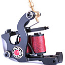 Cast Iron Hand-assembled 10-Wraps Tattoo Machine Gun Liner and Shader