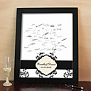 Personalized Signature Frame - Leaves (Includes Frame)