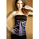 Poliestere splendida con Shapewear Jacquard Busk frontale corsetto chiusura