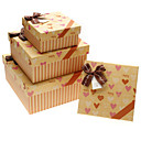 Simple Design Gift Box With Double Bowknot(More Sizes)