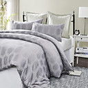 3PCS Bourgas Hexagon Printed Duvet Cover Set