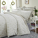 3PCS Cabinda Chenille Floral Mattelasse Woven Twin/Queen/King Duvet Cover Set