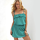 Donna Beach Mini Dress Strap
