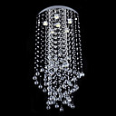 Crystal Beaded Ceiling Light with 3 Lights