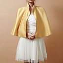 Elegant Satin Evening/Wedding Jacket/Wraps (More Colors)