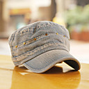 Unisex Denim Rivet Flat Cap(55-58)