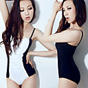 One-piece Contrast Color Swimsuit