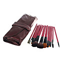 12Pcs Metallic Plum Makeup Brush Set