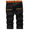 Men's Washing Cropped Jeans