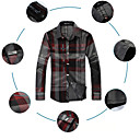 Men 's Shirt Collar Simple and Easy Long Sleeve Shirt