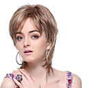 Capless High Quality Synthetic Grey Short Straight Hair Wigs