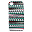 Elegante Tringulo Stripe Pattern Hard capa protetora para iPhone 4/4S