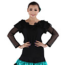 Dancewear Viscose and Tulle Latin Dance Top For Ladies