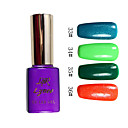 Colorato Glitter UV a colori UV Builder Gel Nail Polish N ° 6 (15 ml, 1pcs, colori assortiti)