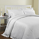 3PCS 300TC Floral Jacquard Tencel Duvet Cover Set