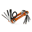 SAHOO Bike Tool Series Cr-v Mini Portable 8-in-1 Bicycle Folding Repair Tool B10011