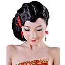 High Quality Synthetic Black Wavy Hair Bangs