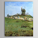 Famous Oil Painting Le-moulin-de-la-gallet by Van Gogh