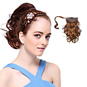 High Quality Synthetic Brown Curly Ponytails