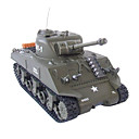 1:30 RC Tank Battle Tanks RTR M4A3 Sherman Radio Remote Control Toys