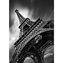 Printed Art Landscape Eiffel Tower Study by Moises Levy