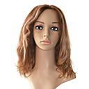 Lace Front 100% Indian Remy Hair Medium Curly Hair Wigs Multiple Colors Available
