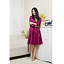 Lace Embroidery Silk Strap 2 Sets Robe