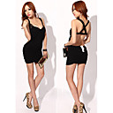 Women's Sexy Backless Lace Bodycon Dress