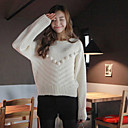 Women's Solid Color Sweater