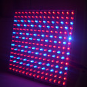 14W Square LED Grow Light with 225pcs for Hydroponic Plant