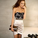 Women's Lace Bodycon Bandeau Dress