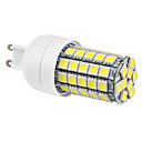 G9 6W 59x5050SMD 540LM 6000-6500K Natural White Light LED Corn Bulb (220-240V)
