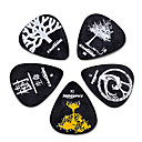 Kavaborg - Standard Shape Guitar Picks/5-Pack(Tree Design)