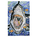Printed Art Animal Great White by Charlsie Kelly