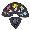 Kavaborg - Triangle Shape Guitar Picks/6-Pack(Monster Design)