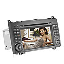 7 polegadas carro dvd player para mercedes-benz (gps, 3G/WiFi, bluetooth, rds, ipod)