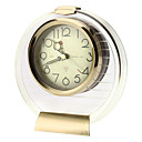 "2.7"" Retro Mechanical Analog Desktop Alarm Clock (Gold)"