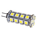 G4 3.5W 30x5050SMD 280-310LM 6000-6500K Natural White Light LED Corn Bulb (12V)