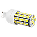 G9 7W 69x5050SMD 630lm 6000-6500K Natural White Light LED Corn Birne (220-240V)