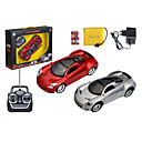 1:16 Emulation RC Charging Four-way  Remote Control Toy Car(Random Color)