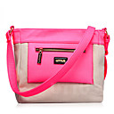 Fashion Stylish Contrast Color Tote/Crossbody Bag