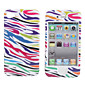 Custodia in policarbonato per iPhone 4 e iPhone 4S - Strisce colorate