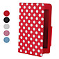 retro polka dot 7 &quot;sag med justerbar stander til Google Nexus 7 android tablet