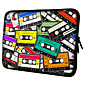 Retro Tapes Laptop-Hlle fr MacBook Air Pro / HP / DELL / Sony / Toshiba / Asus / Acer